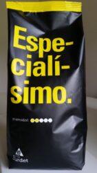 Café Burdet® Especialisimo Alacant zrnka 1kg - čerstvá káva-Směs arabik z Jižní Ameriky, výborné aromá s nezaměnitelnou chuťí. Jemná a sladká, střední tělo  s jemnou dochutí a mírnou kyselostí.